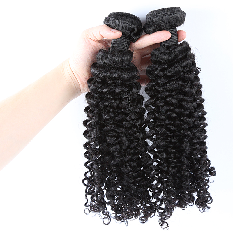 2 bundles kinky curly hair product 02
