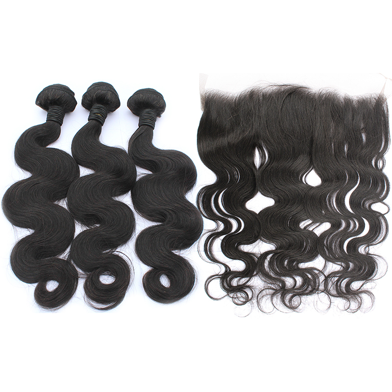 3 bundles with frontal body wave hair product 01