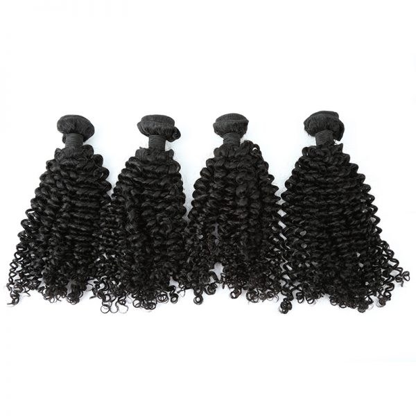 4 bundles kinky curly hair product 01