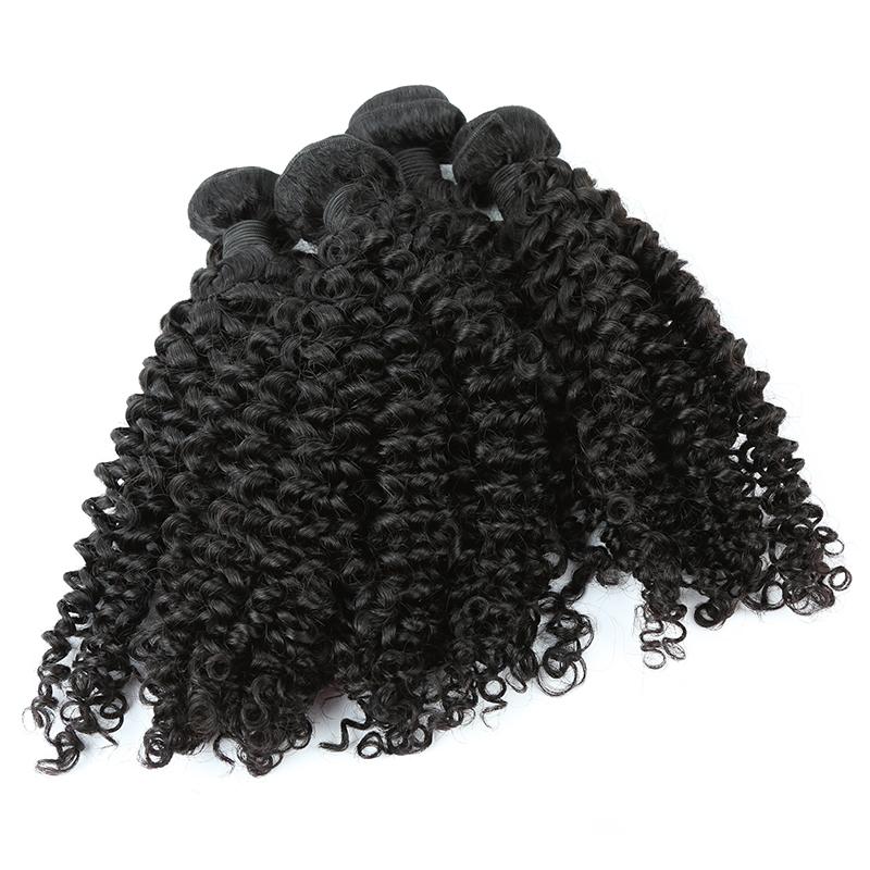 4 bundles kinky curly hair product 02