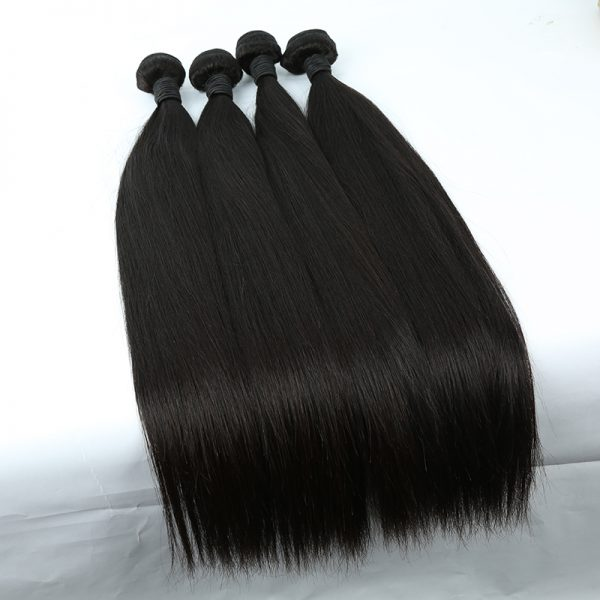 4 bundles straight hair product 01