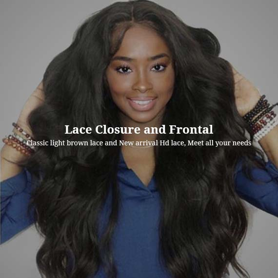 brazilian hair closure and frontal